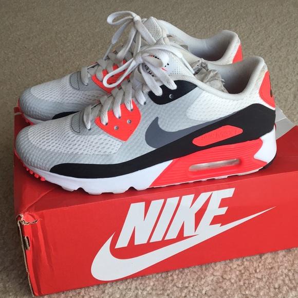Nike sapatos Airmax Airmax sapatos 90 Infrared Color Homens 7Feminino 85 Poshmark be0ab3